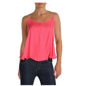 NWT Free People Pink Crossroads Camisole Top S M